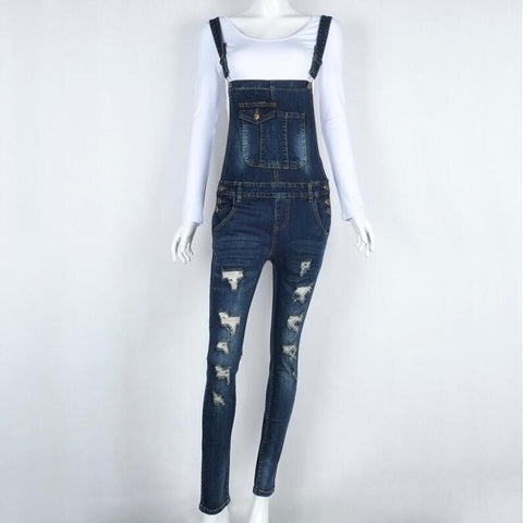 Women's Denim Jumpsuit/Overalls