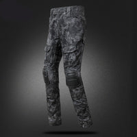 Men's Tactical Camouflage Long-Sleeve Shirt & Pants Set