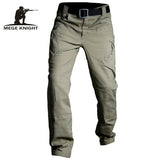 MEGE KNIGHT Urban Tactical Multi-Pocket Cargo Pants for Men