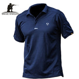 MEGE KNIGHT Brand Coolmax Breathable Men's Tactical Polo Shirt