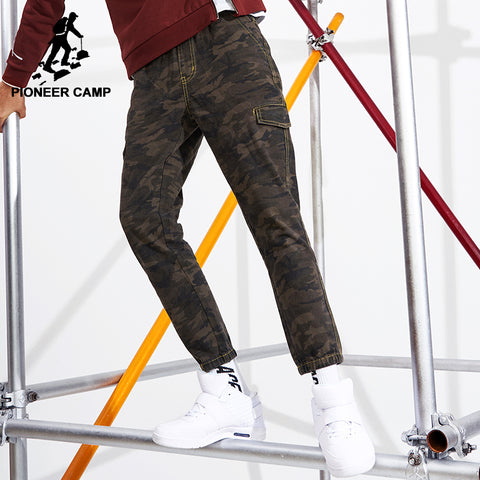 Pioneer Camp Camouflage Men's Stretch Denim Jeans