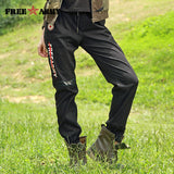 Free Army Brand Black Cotton Elastic Waist Women's Pants
