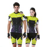Men & Women's Short-Sleeve Jersey & Pants Cycling Set