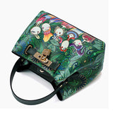 Lock Decorated Mini Crossbody Animated Design Purse