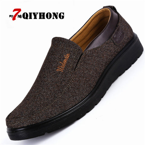 Men's Comfortable Canvas Loafer