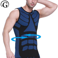 Men's Compression Sleeveless Breathable Tank Top Slimming Vest