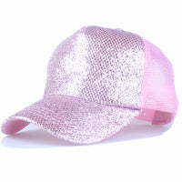 Shining Front Snap Back Baseball Cap