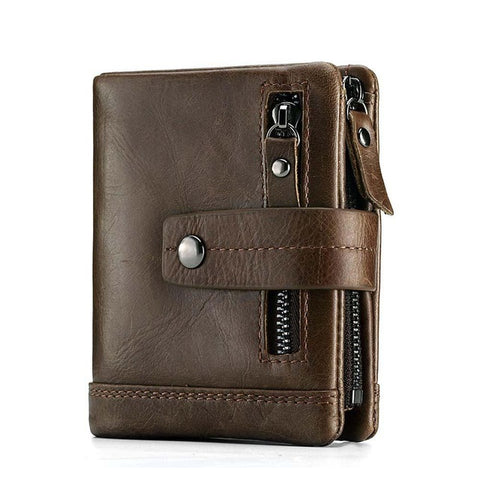 Men's Genuine Leather Multi Function Wallet