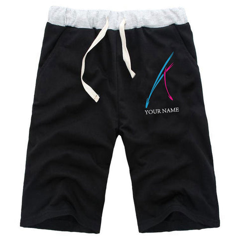 Men's Anime Knee Length Athletic Shorts