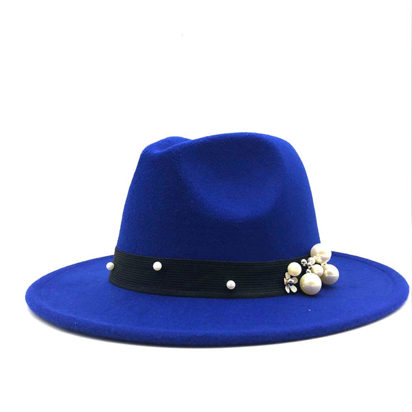 Wool Wide Brim Godfather Hat