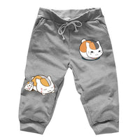 Anime Natsume's Book of Friends Cat Gym Shorts