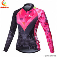 Women's Long Sleeve Cycling Shirt Lady Lightweight Sport Riding Clothing Mountain Mtb Bicycle Clothes Team Bike Jacket design