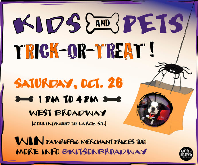 Kids + Pets Trick-or-Treat