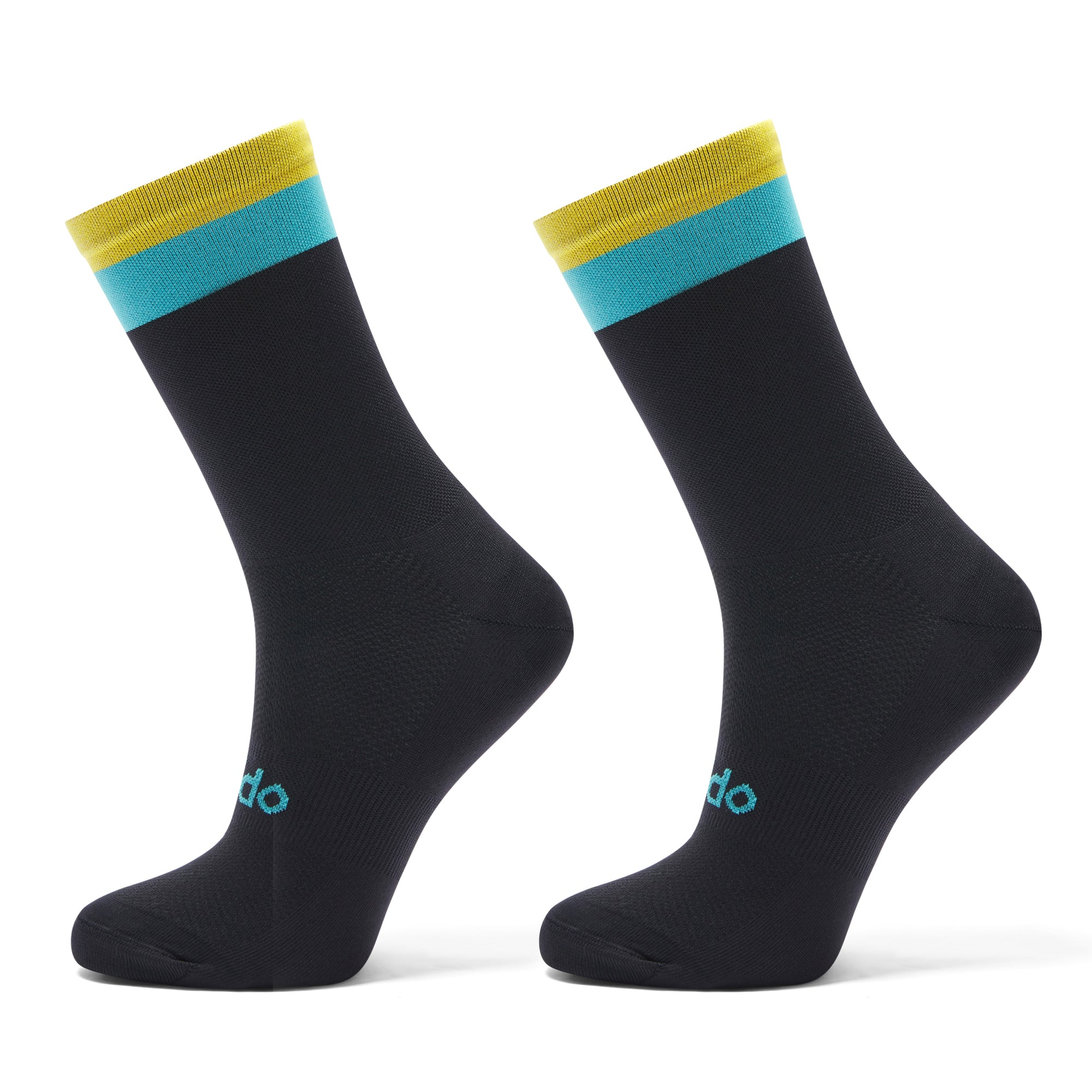 Black Cycling Sock