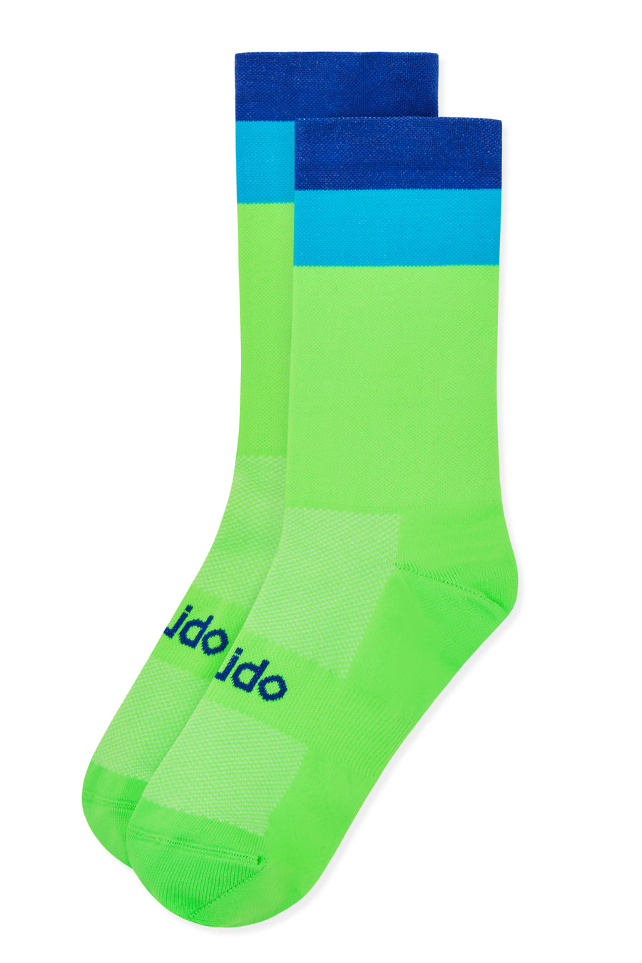 Fluro Green bicycle Cycling Socks