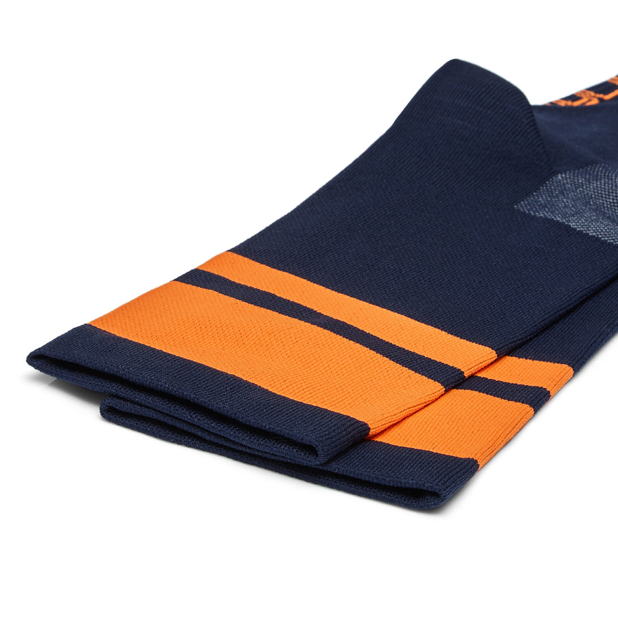 Cycling socks navy/orange