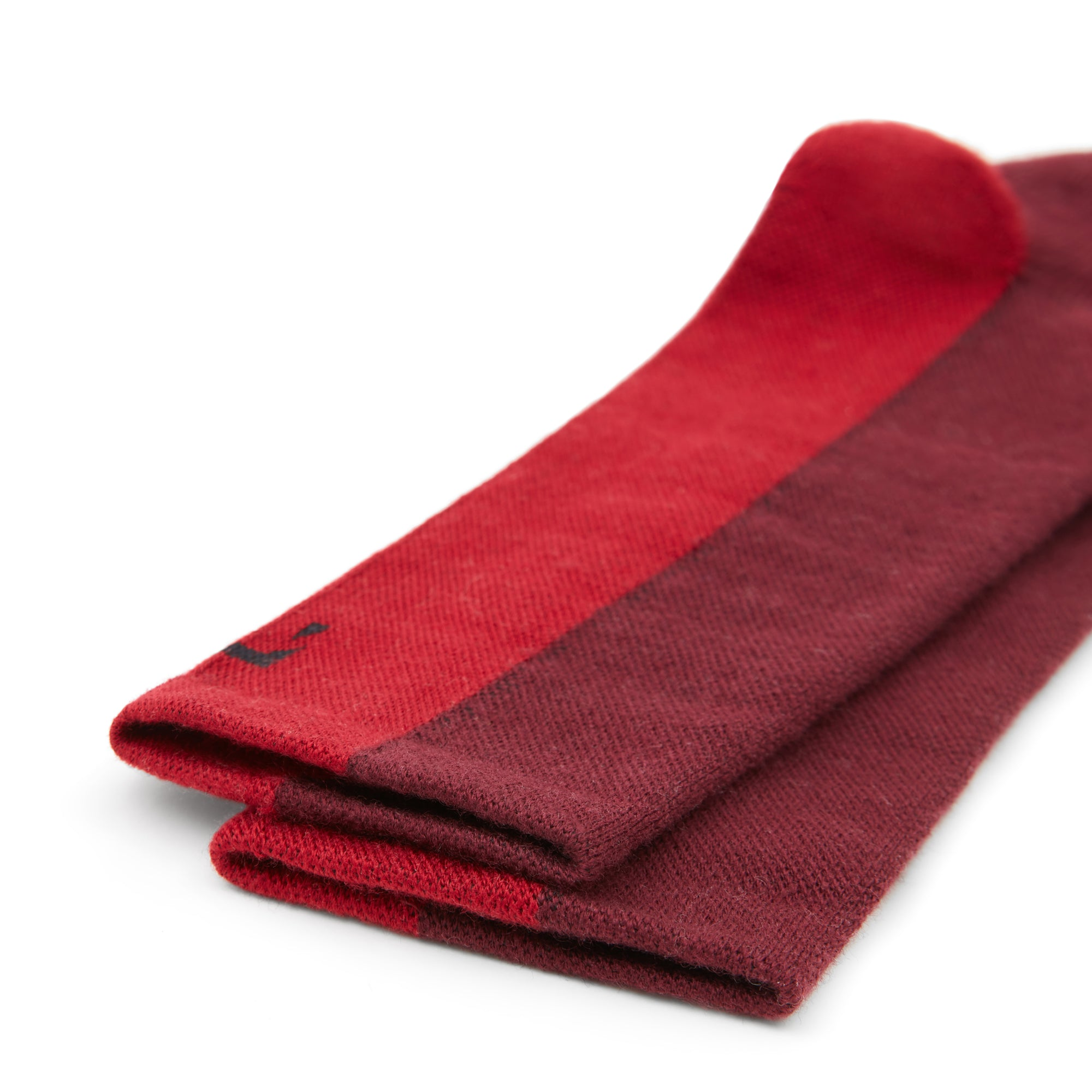Merino Wool Cycling Socks - Red