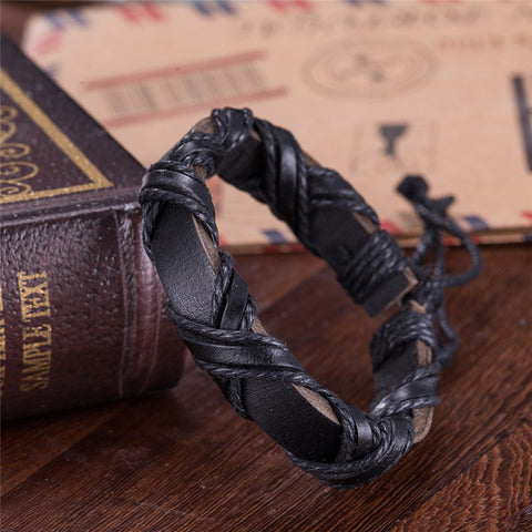 Vikings Leather Bracelet
