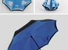 Image of Windproof Reverse Umbrella Double Layer Inverted Umbrella Self Stand umbrella rain/sun women/men high quality 2017 Child durable