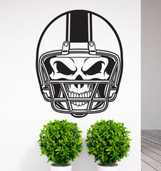 Large Size American Football  Wall Stickers