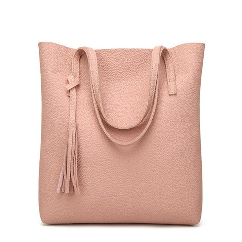 High Quality Women's Soft Leather Handbag