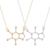 Image of Caffeine Molecular Necklace