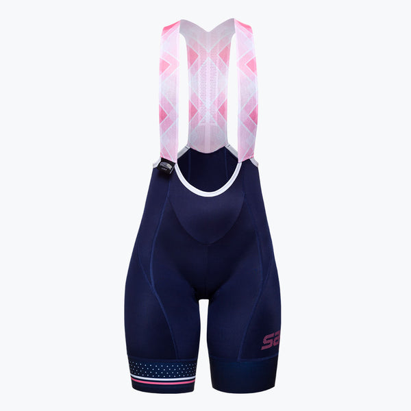 Bib Short Coral Blue