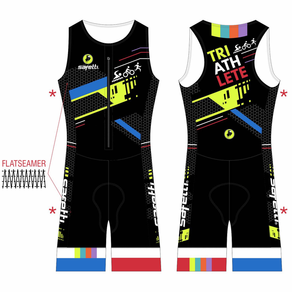 Trisuit Junior Black Tri
