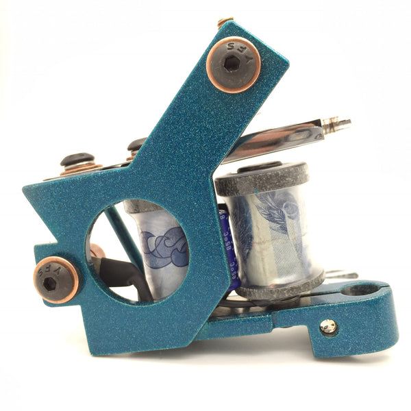 Melrose Frame Blue with Money Coils Liner
