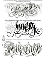 Letters to Live By Lettering Reference Guide Vol 2