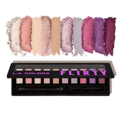 L.A. COLORS Personality Eyeshadow Palette - Flirty