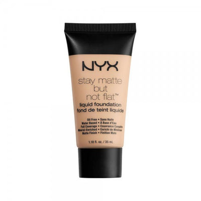 NYX Stay Matte But Not Flat Liquid Foundation - Porcelain