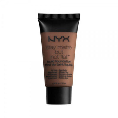 NYX Stay Matte But Not Flat Liquid Foundation - Deep Dark