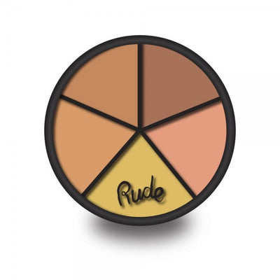 RUDE Fabulous Concealer Wheel - Medium