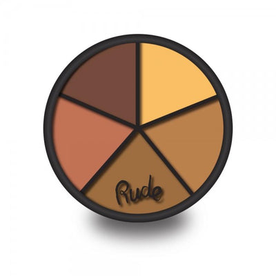 RUDE Fabulous Concealer Wheel - Dark