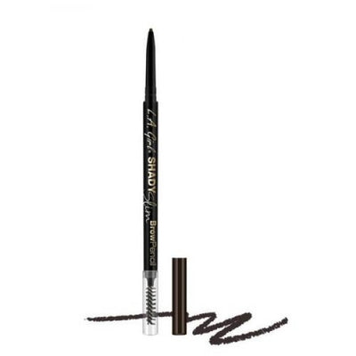L.A. GIRL Shady Slim Brow Pencil - Blackest Brown