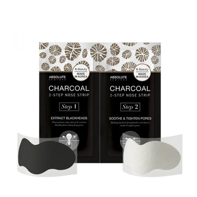 ABSOLUTE Charcoal 2-Step Nose Strip
