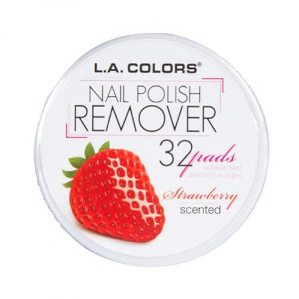 L.A. COLORS Nail Polish Remover Pads - Strawberry