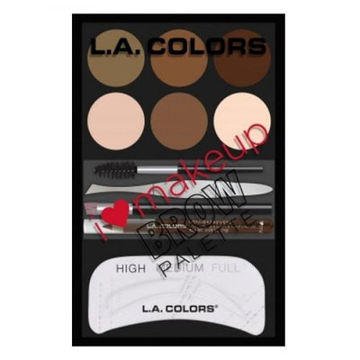 L. A. COLORS I Heart Makeup Brow Palette - Light To Medium