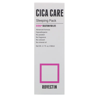 CICA CARE SLEEPING PACK 80ml