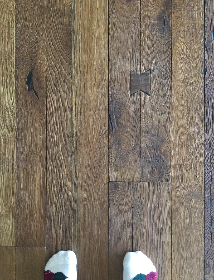 Kährs Oak Unico. Wide plank engineered hardwood flooring from Sweden.