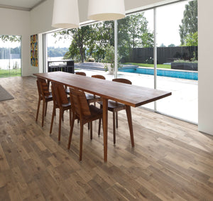 Kährs Oak Granite. Engineered hardwood flooring from Sweden.