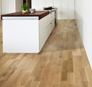 Kährs Oak Verona. Engineered hardwood flooring from Sweden.