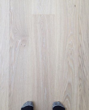 Kährs Oak Paris. Wide plank engineered hardwood flooring from Sweden.