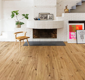 Kährs Oak Vedbo. Wide plank engineered hardwood flooring from Sweden.
