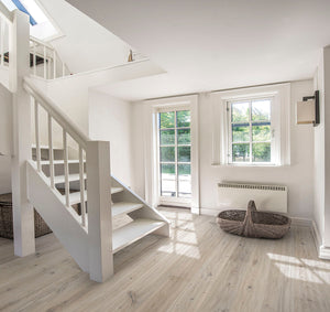 Kährs Oak Vista. Wide plank engineered hardwood flooring from Sweden.