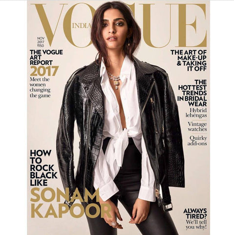 Vogue India is crushing on the bindi ring November 2017 Issue