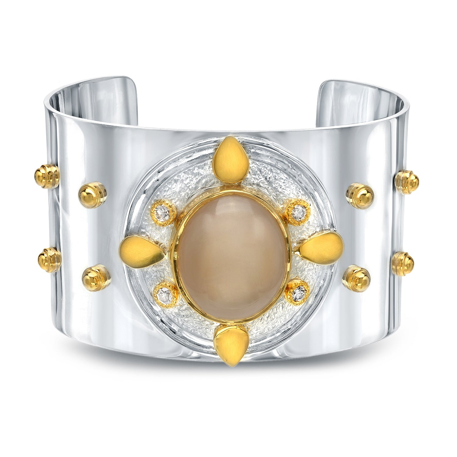 shield-cuff-moonstone-and-24karat-gold