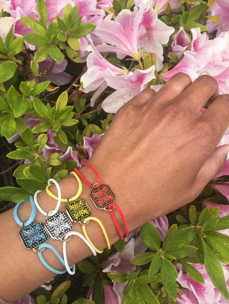 mantra bracelets - color