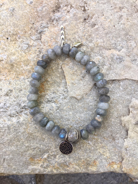 intuition & transformation warrior bracelet FOR HER